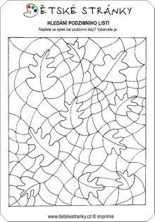 stromy a keře pracovní listy - Hledat Googlem Autumn Activities, Therapy Activities, Hidden Pictures, Zentangle Patterns, Autumn Leaves, Coloring Pages, Art Projects, Kindergarten, Preschool
