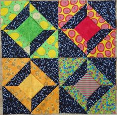 More of my mom's work. Lovely 3d quilt.
