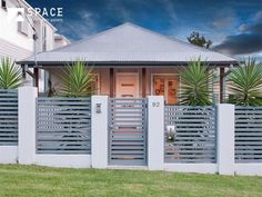 Fence Landscaping Curb Appeal fence stain back yard.Fence Stain Back Yard. House Fence Design, Modern Fence Design, Gate Design, Modern Gates, Entrance Design, Brick Fence, Front Yard Fence, Fence Gate, Front Gates