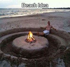 Beach idea or make it into a real indented lounge