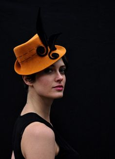 cocktail hat-new hat di behidadolicmillinery su Etsy