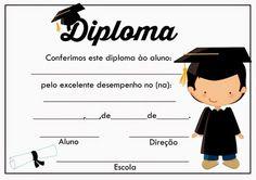 Diplomas prontos para impressão. - Cantinho do blog