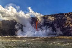 3 Days in Paradise At Hawai'i Volcanoes National Park — National Parks Traveler Hawaii Volcanoes National Park, Volcano National Park, National Parks, Places To Travel, Travel Destinations, Big Island Hawaii, Lava, Paradise, Landscapes