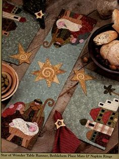 Star of Wonder Table Runner (Star of Wonder Book - Art to Heart Series by Nancy Halvorsen)