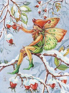 Fairy Paintings, Fantasy Paintings, Kobold, Fairy Pictures, Vintage Fairies, Baby Fairy, Fairytale Art, Christmas Fairy, Beautiful Fairies