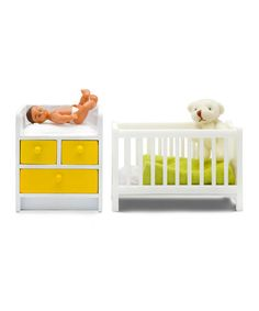 Take a look at this Nursery Set & Baby Doll by Lundby Stockholm  on #zulily today!