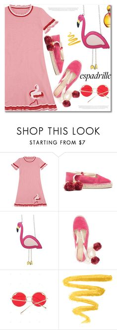 """Espadrilles"" by fshionme ❤ liked on Polyvore featuring Missoni"