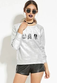 Star Wars Graphic Metallic Pullover | Forever 21 #thelatest