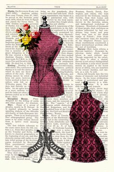 Mannequin text page