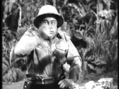 Africa Screams - & Costello search for diamonds in Africa, along the way meeting a visually-impaired gunner, a hungry lion, and a tribe of cannibals Old Comedy Movies, Classic Comedy Movies, Classic Comedies, Comedy Tv, All Movies, Movies To Watch Now, Comedy Duos, Great Comedies, Abbott And Costello