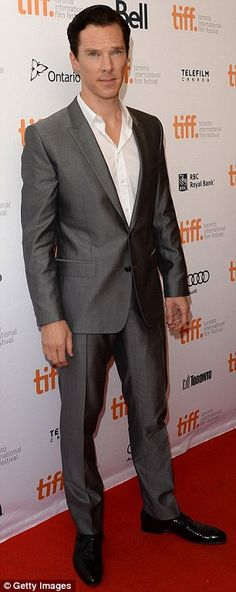 Benedict Cumberbatch at TIFF~~DEar lord. That face. That's the face that kills me.