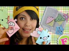 Heladitos kawaii como marcapáginas (Tutorial) - Kawaii ice-cream bookmark (Tutorial) - YouTube