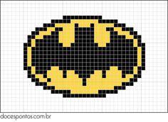 cross stitch - Batman