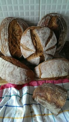 #sourdough eksi mayali ekmeklerimiz hazir..