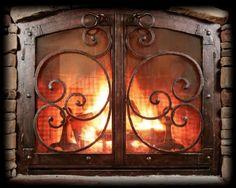 Ironhous Custom Fireplace Doors
