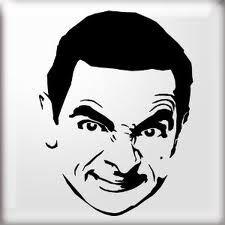 Mr. Bean Stencil