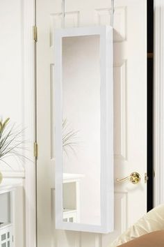 Valerie White Over-the-Door Full-Length Mirror Jewelry Armoire on sale today!!! http://www.hautelook.com/short/3Puzt