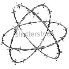 Barbed Wire Star