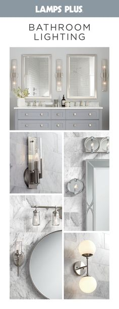 Free Shipping* on our best-selling bathroom lighting fixtures. We carry the best selection at the lowest prices including vanity lighting, sconces and bath bars. #bathroom #lighting