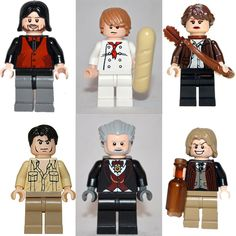 Oh my gosh, they have Hunger Games legos....but why does Katniss look like Coach Beiste from Glee?