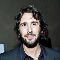 Josh Groban at the People Magazine Awards 12/18/14. Hmmm...I'm not too sure about that beard Josh!