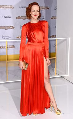 Jena Malone at the #TheHungerGames: Mockingjay premiere in L.A.