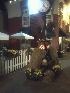 Penny Lane October at night. Enjoy