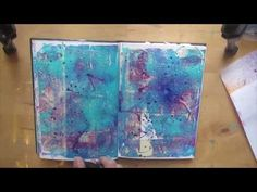 Art Journal - Layering Technique - YouTube