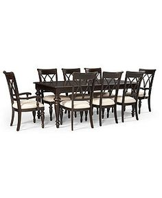 bradford dining room furniture collection | Durango 7 Piece Dining Room Furniture Set - Shop All ...