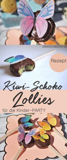 Party-Snacks und kreative Ideen rund um die Kinderjause. Geburtstagsfeier oder Kinderbrunch, Party ist immer - Hunger kommt beim Hinsehen und so werden Obst, Schokolade und vieles mehr richtig schön hergerichtet. Party-on!