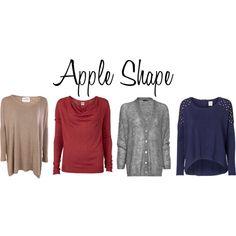 winter fashion for apple shape - Google Search