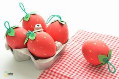 DIY : Des œufs fruités pour Pâques