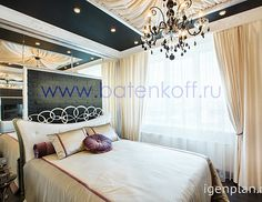 Тут не только спальня, но и целая гламурная квартира. Дизайн-студия «Батенькофф». #дизайнинтерьера #igenplan #дизайнквартиры  #интерьерквартиры   #квартиры #дизайнспальни