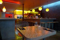 Braisenville, Paris 9e : déco sympa, service parfait, et une assiette de bonne tenue. Des portions à mi-chemin entre le plat et les tapas, idéal quand on aime goûter à tout.