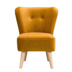 Fauteuil Halmstad - stof - geel Viborg, New Beginnings, Accent Chairs, Furniture, Design, Home Decor, Master Bedroom, Studio, Products
