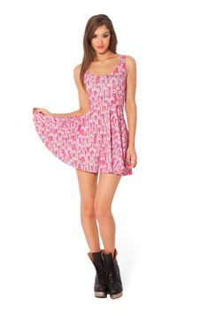Princess Bubblegum Scoop Skater Dress - LIMITED › Black Milk Clothing