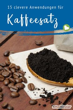 15 clever things you can do with coffee 15 clevere Dinge, die du mit Kaffeesatz machen kannst Coffee grounds are too good for the bin! It& so easy to use it against orange peel! Yellow Vegetables, Coffee Pack, Inexpensive Wedding Favors, Beauty Make Up, Better Life, Cleaning Hacks, Clever, Canning, Chocolate