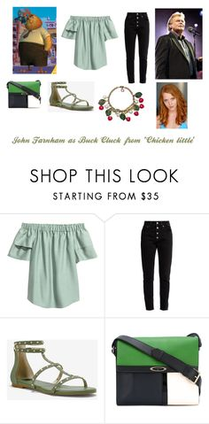 """""""Disney dream cast: John Farnham as Buck Cluck from 'Chicken little'"""" by sarah-m-smith ❤ liked on Polyvore featuring Balenciaga, White House Black Market, Lanvin and Gucci"""