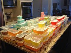 Pyrex; refrigerator dishes 2015 #fortheloveofrefrigeratordishes:)