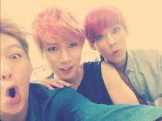 Btob- Changsub, Eunkwang and minhyuk