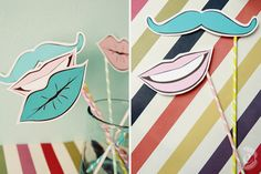 smitten sticks photo booth props favors