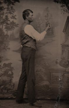 Review: The Painted Backdrop: Behind the Sitter in American Tintype Photograph