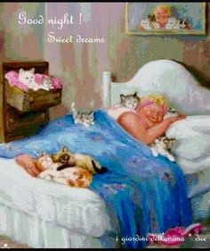Cats in Art and Illustration: Dianne Dengel Crazy Cat Lady, Crazy Cats, All About Cats, Vintage Cat, Whimsical Art, Beautiful Cats, Cat Art, Animals And Pets, Cats And Kittens