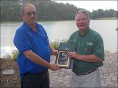 """Congratulations to Steve Dietz for winning the Schuylkill Conservative District """"2012 Conservation Professional of the Year Award."""" Dietz, a shift supervisor for Wheelabrator Frackville, was recognized for his contributions to the environment through a part-time agricultural business he operates. He has worked at Wheelabrator, a wholly-owned subsidiary of Waste Management for over 22 years!"""