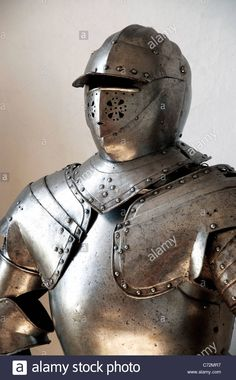 Closeup Of A Medieval Knight's Suit Of Armor And Helmet Stock Photo, Royalty Free Image: 38783563 - Alamy
