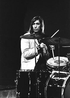 Charlie Watts, drummer for The Rolling Stones. This man is the band's bedrock. Damn, he also has a mean right hook that you don't want to experience at 5 AM....