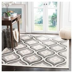 """Our Cottage Collection takes indoor-outdoor area rug design to new heights of fashion and style. No longer mere, """"high-traffic"""" floor coverings, Cottage rugs blend country-classic motifs and a sensible color palette in incredibly functional and utterly attractive indoor-outdoor carpets. Power loomed using high-quality, durable synthetic fibers, Cottage Collection carpets accentuate and enliven the decor of any high-use area of the home or office. The home designer's first choice..."""