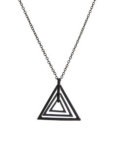 ASOS Geo Triangle Pendant Necklace | mens pendant necklace | menswear | mens style | mens fashion | wantering http://www.wantering.com/clothing-item/asos-geo-triangle-pendant-necklace/aaygU/