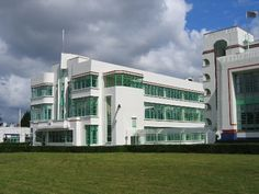 hoover side building also art deco now an office building many serial occupants none art deco office building