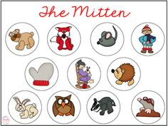 FREE smash mat to go along with The Mitten by Jan Brett! Simply Speech